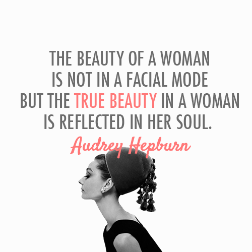 Audrey Hepburn Quotes About Beauty