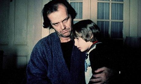 Jack Nicholson and Danny Lloyd in The Shining